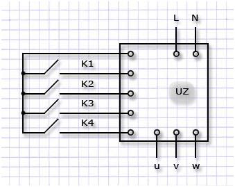 подключение трехфазного двигателя к однофазной сети через частотник