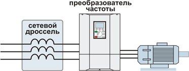 Сетевой фильтр для частотного преобразователя