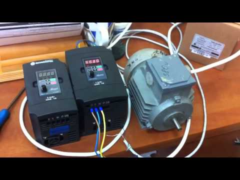Частотный преобразователь для токарного станка