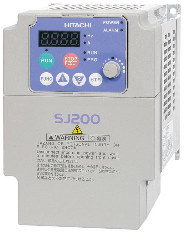 Частотные преобразователи Hitachi SJ200