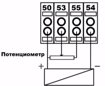 Настройка частотного преобразователя Danfoss