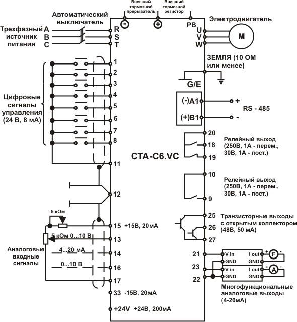 Преобразователь частоты 660в