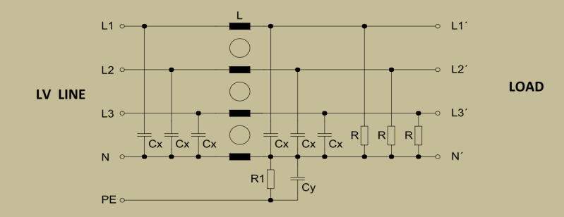 Синусный фильтр для преобразователя частоты