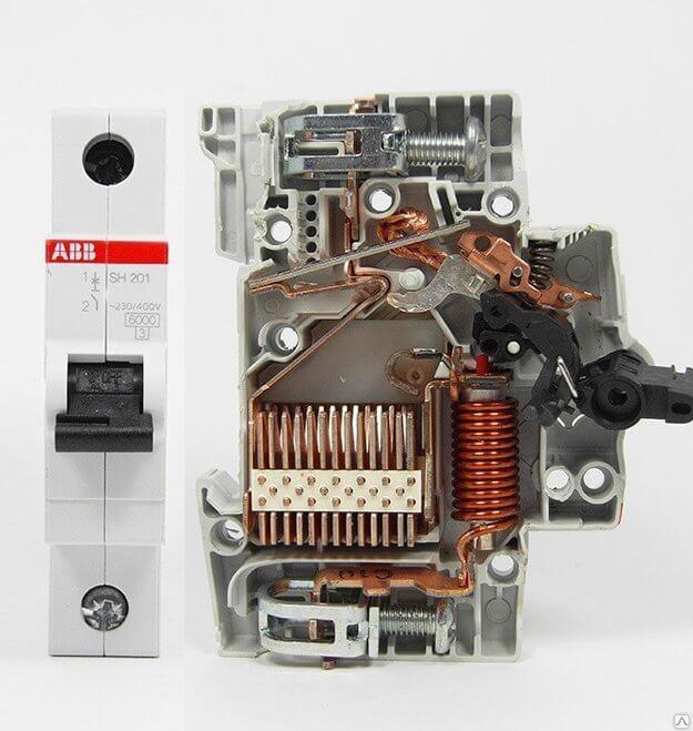 Автоматические выключатели ABB
